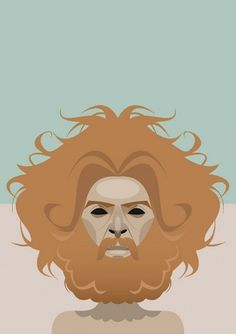 Jodorowsky | Flickr - Photo Sharing! #man #illustration #face #beard