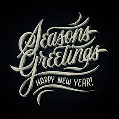 typeverything.com, Seasons Greetings by Brett Stenson