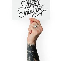 Nothing much to say. Be inspired by Rawpixel.com #start #startup #think #big #business #realimage #social #branding #socialmedia #sales #