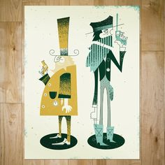 art prints : bandito design co. #illustration #ryan #brinkerhoff