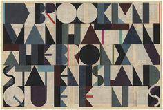 Juxtapoz Magazine - Evan Hecox #collage #paper #geometric #typography