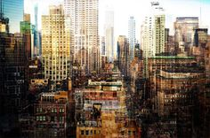 Manhattan\'s Skyscapers Get A Turner Esque Makeover In These Multilayered Photographs | The Creators Project