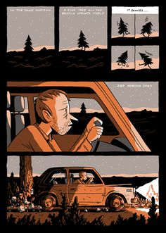 Everything We Miss - Page 2 #comic #illustration #graphic #novel