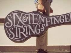 Six Strings, Ten Fingers #lockups