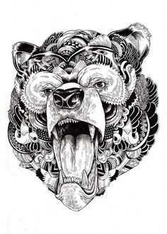 Animal illustrations and shirt designs on Behance #iain #wildlife #macarther
