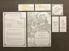 Brooklyn Wedding Invitations « Beast Pieces #print #letterpress #typography