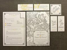Brooklyn Wedding Invitations Â« Beast Pieces #print #letterpress #typography