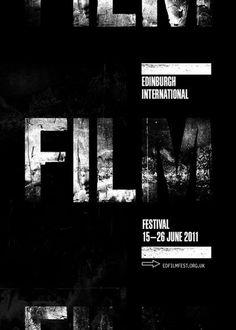 FILM #typography #poster #film