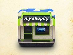 Myshopify small #designers #icon #design #graphic #icons #illustration #app #graphics