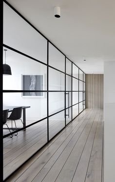 so clean #interior #wood #office #glass