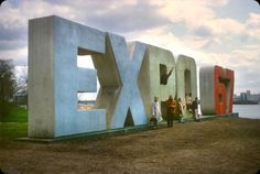 Expo 67 / Montréal #sculpture #expo #photography #montral #typography