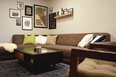 Living Room, Interior Design #living room, #gallery wall, #interior, #modern