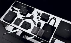 Saint Laurent rebrand by Hedi Slimane #identity #brand #visual #collateral