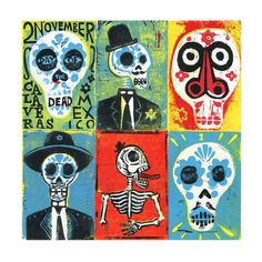 All sizes | Day of the Dead | Flickr Photo Sharing! #illustration