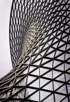src via sid766 #geometric #glass #metal