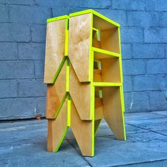 Stack Stool by Kahokia Design, Brooklyn, NY