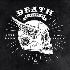 DEATH COLLECTIVE on Behance by Benny Blunder