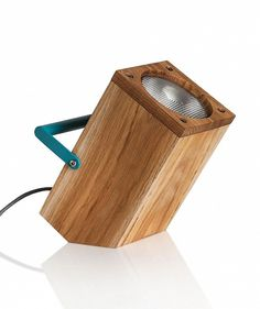 Tom, torch inspired table lamp #lamp #design #wood #lighting #table