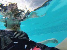 Image of Dark Tropical Surf one-piece swimsuit KFKS #onepiece #swim #design #fashion #wear #surf