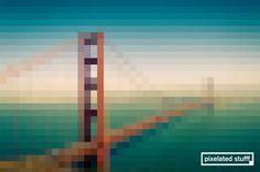 Pixelated Stufff - Golden Gate Bridge