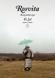 GigPosters.com - Rosvita #music #poster #typography