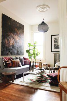 More Design Please MoreDesignPlease Modern BohemianRoom #interior #sunshine #design #living #room