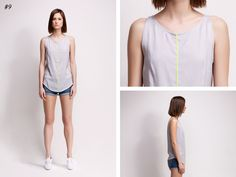 asu aksu / collections / ss2012 borderline no 9 #collection #fashion #grey #neon #summer #borderline #asu aksu