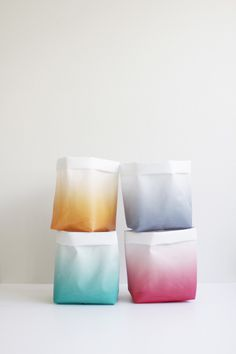 aprilandmayMINI #interior #textille #design #colours #colors #gradient #sacks