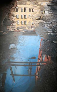 Realistic Urban Paintings by Graeme Berglun_2