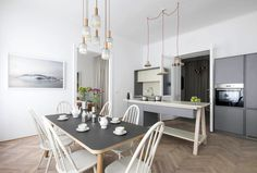 Home where Spirit of Viennese Classical Style is Entwined with the Modern Time - InteriorZine #decor #interior #home