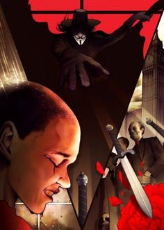 Chris B. Murray #designs #v #illustration #vendetta #posters #for #movies #comics