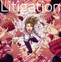 Yuta Onoda Blog: Litigation Magazine #illustration #cover #magazine