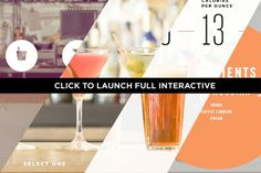 VN C5 interactive banner #calorie #interactive #count #alcohol #design #graphic #health