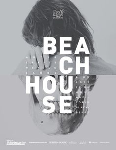 Beach House Music Poster