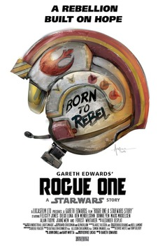 BORN to REBEL – Star Wars Rogue One Vector