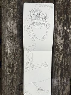 Sketch book - The People - Joe Bichard