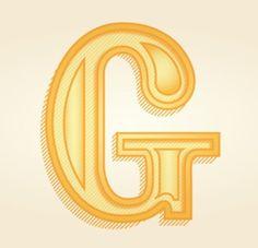 Initial Cap #logo #typography