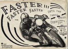 CAFE RACER Typography on Typography Served #typography