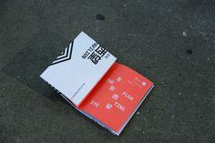 Shanghai Biennale / Sydney Pavilion #fold #print #poster #out