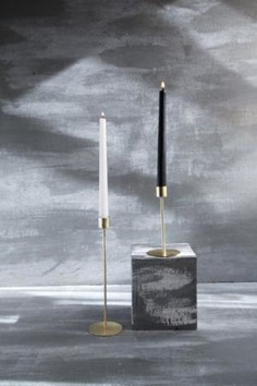 Brass Candle Stands - R O S E B U C K