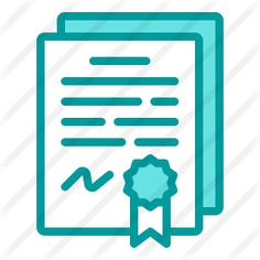See more icon inspiration related to files and folders, business and finance, arragement, degree, certification, contract, license, agreement, certificate, education, diploma, document, file, business and ribbon on Flaticon.