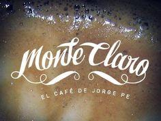 Typography / Monte claro #logo