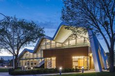 Futuristic Library Design Encouraging Social Interaction in Edmonton,Canada #futuristic #architecture #library