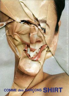 Stephen J Shanabrook #art #collage #face