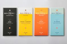 Masa chocolate packaging
