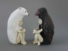 Sculptures by Crystal Morey #inspiration #sculpture #art