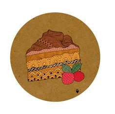 My little bakery on the Behance Network #illustration #colour #lines