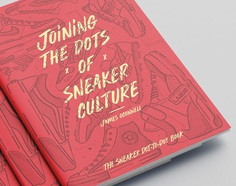 Joining the dots of sneaker culture, a sneaker dot-2-dot book by James Oconnell