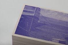 Passport Identity #identity #letterpress #blue #boats #postcard #halftone #passport