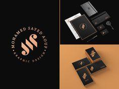 MS: personal identity #logo #logos #symbol #identity #branding #icons #vintage #MS #behance #dribbble